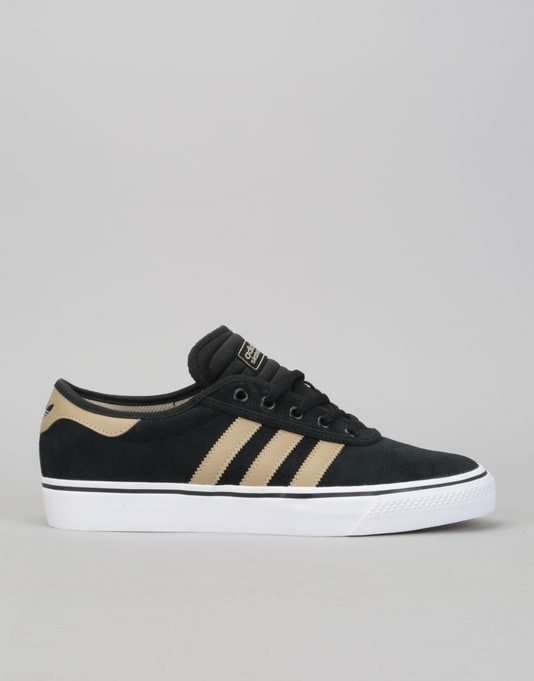 f9d3192be7d Adidas Adi-Ease Premiere Skate Shoes - Core Black Raw Gold White ...