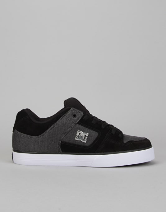 brand new 4e9e3 399c9 DC Pure SE Skate Shoes - Black Charcoal   Skate Shoes   Mens Skateboarding  Trainers   Footwear   Route One