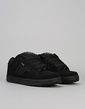 DVS Enduro 125 Skate Shoes - Black Nubuck