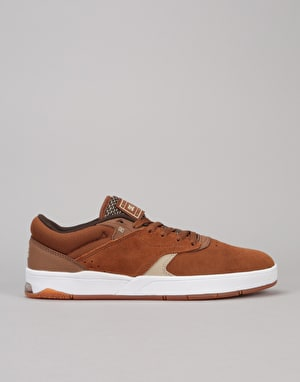 DC Tiago S Skate Shoes - Brown/Tan