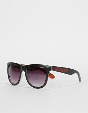 Santa Cruz Multi Classic Dot Sunglasses - Black