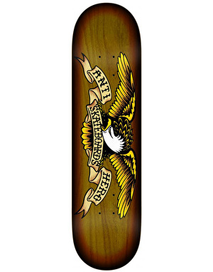 Anti Hero Eagle Sunburst Team Deck - 8.25
