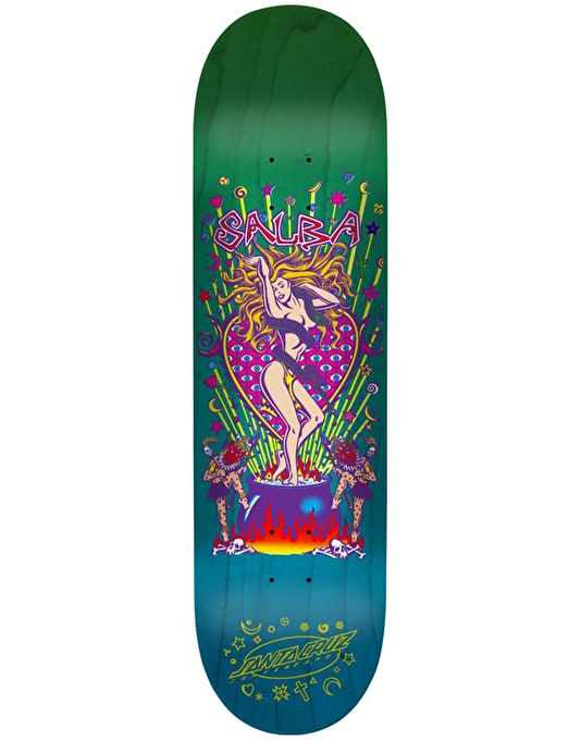 Santa Cruz Salba Witch Doctor Skateboard Deck - 8""