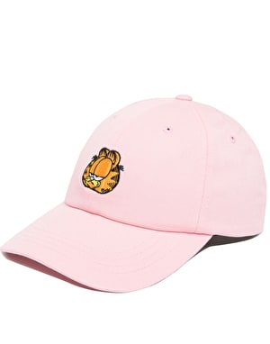 The Hundreds x Garfield Mood Dad Cap - Light Pink