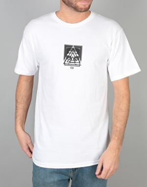 Obey 3 Face Top Pyramid T-Shirt - White