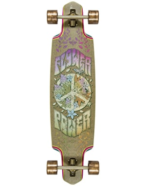 Dusters Flower Power Drop Through Longboard - 38