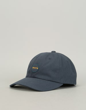Brixton Meyer Low Profile Cap - Washed Navy