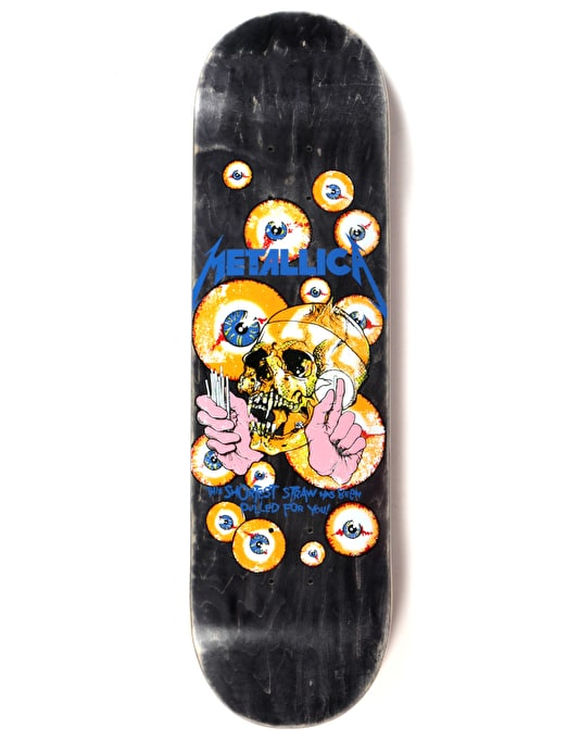 Lovenskate x Metallica Shortest Straw Ltd Deck - 8.5""