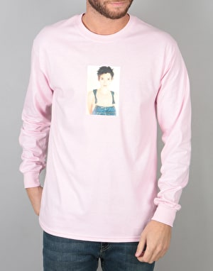 Manor Ryder Long Sleeve T-Shirt - Light Pink