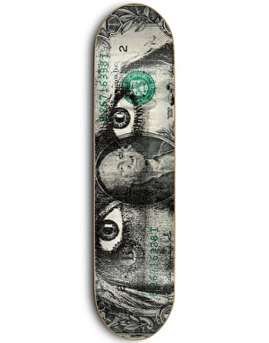 Skate Mental Plunkett Dads Money Skateboard Deck - 8.25