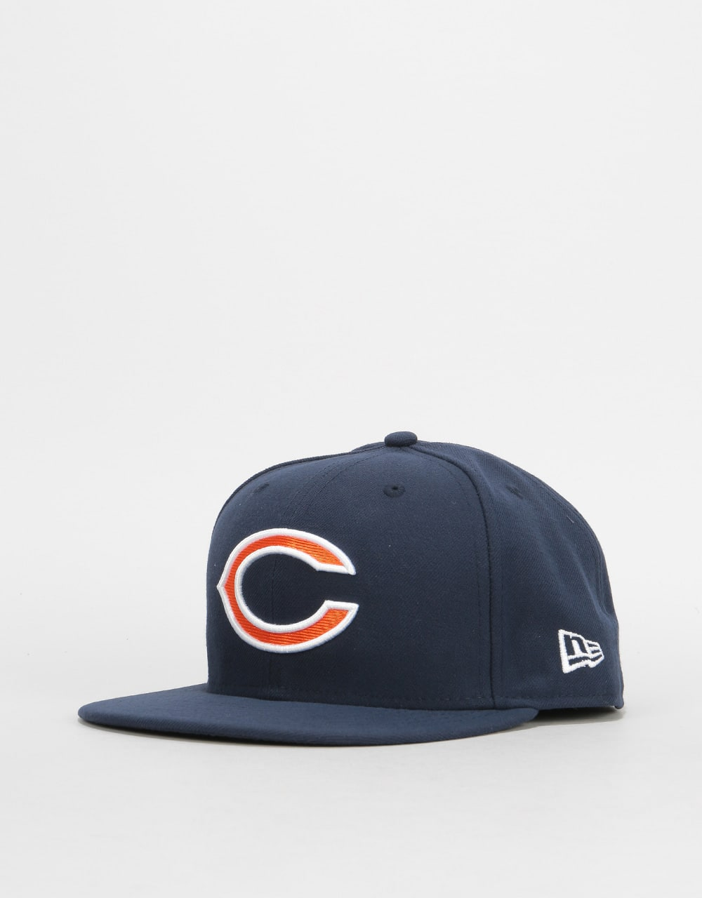 New Era 59Fifty NFL Chicago Bears Fitted Cap - Navy  fbabc938619