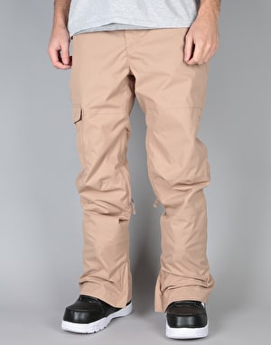 Bonfire Tactical Gold Collection 2018 Snowboard Pants - Taupe