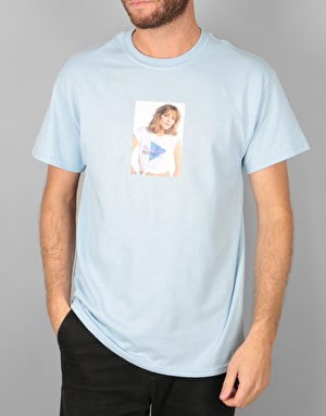 Manor Cattrall T-Shirt - Light Blue
