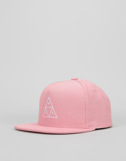 b3bc3c5ba46 HUF Triple Triangle Snapback Cap - Nautical Red