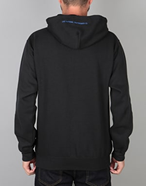 The National Skateboard Co. Grin Pullover Hoodie - Black