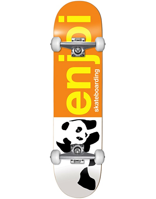 Enjoi Half and Half Complete Skateboard - 8""