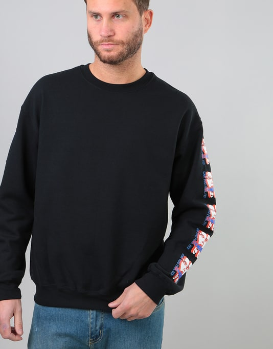 Obey Can You Feel It Basic Box Crew - Black
