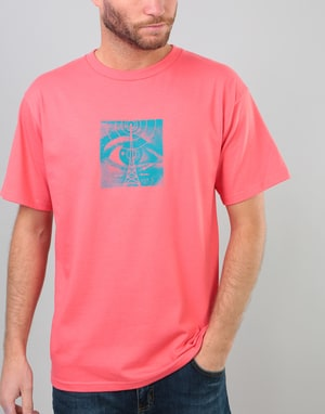Obey Wasteland T-Shirt - Coral