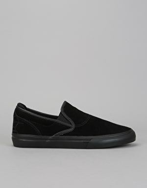 Emerica Wino G6 Slip-On High Skate Shoes - Black/Black/Black