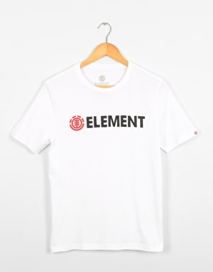 Element Blazin  Boys T-Shirt - Optic White
