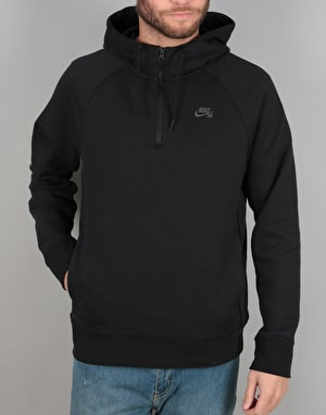 Nike SB Icon HZ Hoodie - Black/Dark Grey