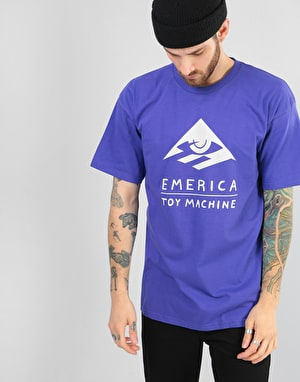 Emerica x Toy Machine Toy T-Shirt - Purple