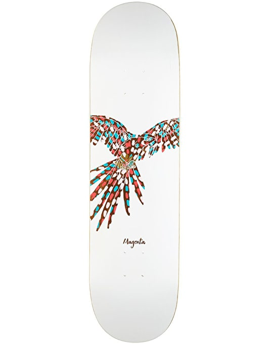 Magenta Feather Team Deck - 8.25""