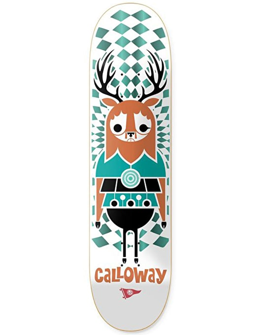 Primitive x Don Pendleton Calloway Zoo Skateboard Deck - 8.5""