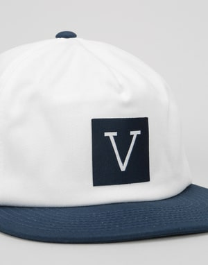 Vans x Chima Unstructured Snapback Cap - Dress Blues/White