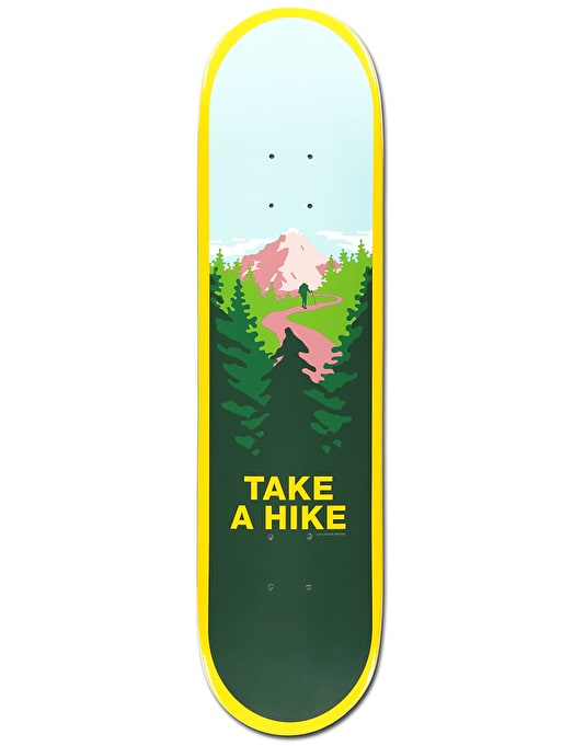 Skate Mental Take A Hike Team Deck - 8.2""