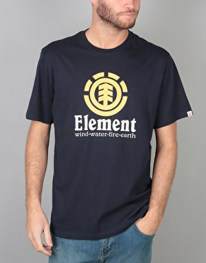 Element Vertical T-Shirt - Eclipse Navy