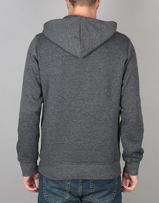 Element Tri Tip Pullover Hoodie - Charcoal Heather