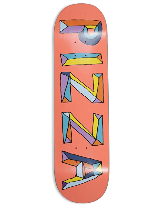 """Pizza Stained Glass Skateboard Deck - 8.5"""""""