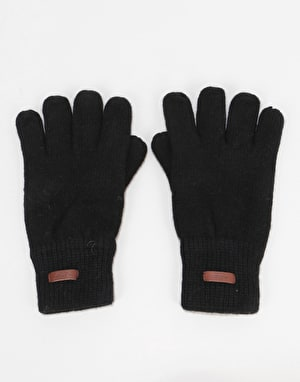 Barts Haakon Gloves - Black