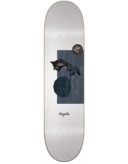 Magenta Fox Skateboard Deck - 8""