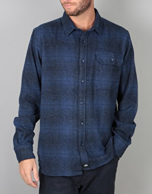 Dickies Ivyland L/S Shirt - Blue