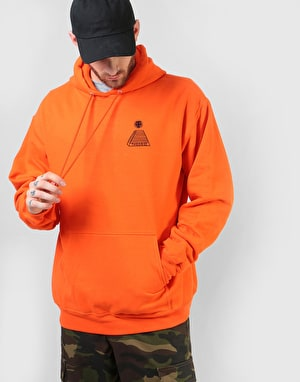 Theories Scribble Pullover Hoodie - Orange/Black