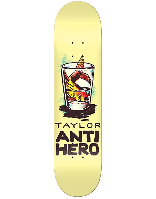 Anti Hero Taylor Overcrowding Skateboard Deck - 8.12""