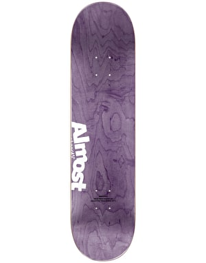 Almost x Hanna-Barbera Yuri SnagglePuss Face Skateboard Deck - 8.125