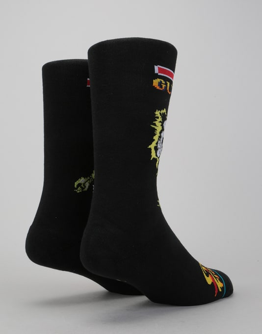 Stance x Street Fighter II Guile VS Blanka 200 Needle Socks - Multi