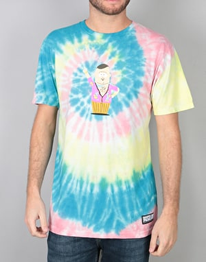 HUF x South Park Big Gay Al Tie Dye T-Shirt - Multi