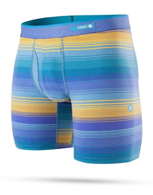 Stance Nevermind Combed Cotton Boxer Shorts - Blue