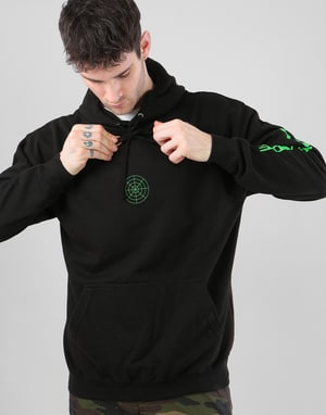 Route One Worldwide Pullover Hoodie - Black