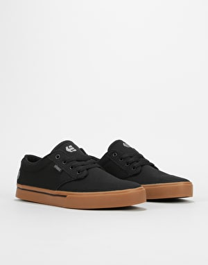 Etnies Jameson 2 Eco Skate Shoes - Black/Gum/Silver