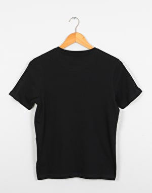 Element Horizontal Fill  Boys T-Shirt - Flint Black