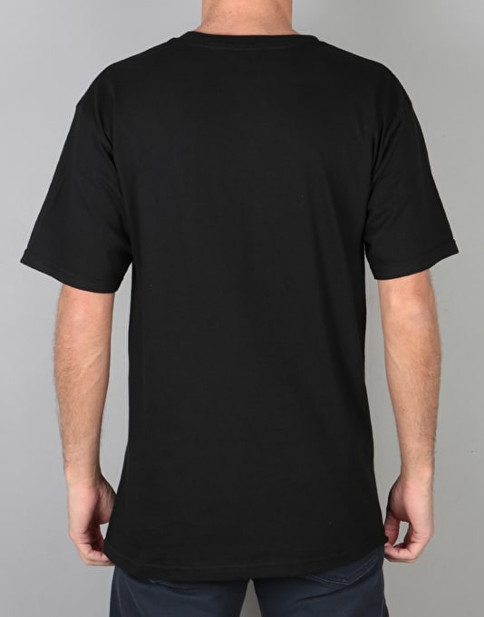 Obey Total Chaos T-Shirt - Black