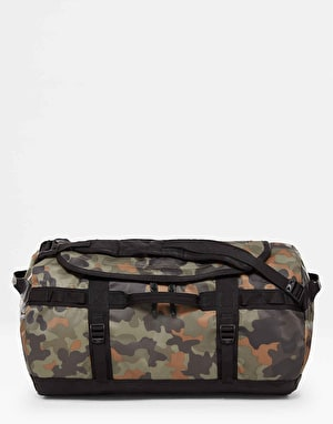 The North Face Base Camp Small Duffel Bag - New Taupe Green Macrofleck