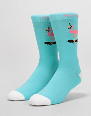 RIPNDIP Beaches Socks - Aqua
