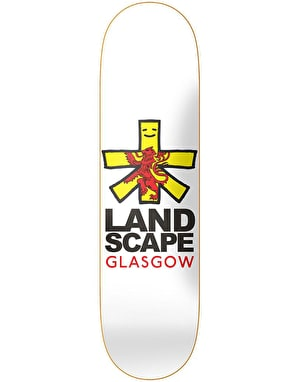 Landscape Glasgow Cities Skateboard Deck - 8.375