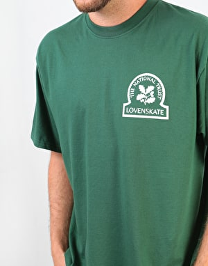 Lovenskate Skateboard Heritage T-Shirt - Green
